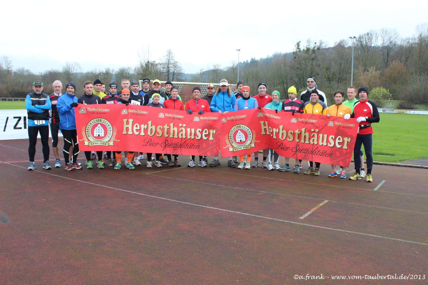 """""""Harte Mann"""" Extremlauf Starterfeld"""