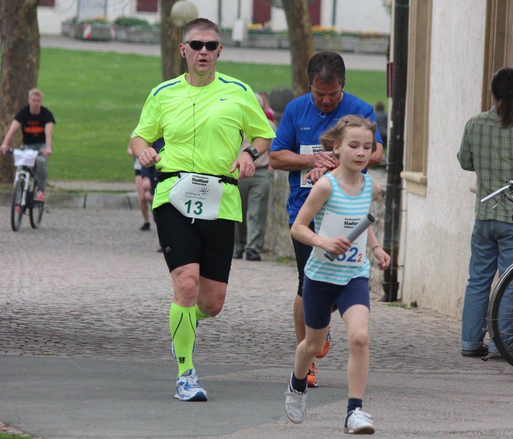 9. Stadtlauf Bad Mergentheim - die Kinder laufen einem schon davon ;)