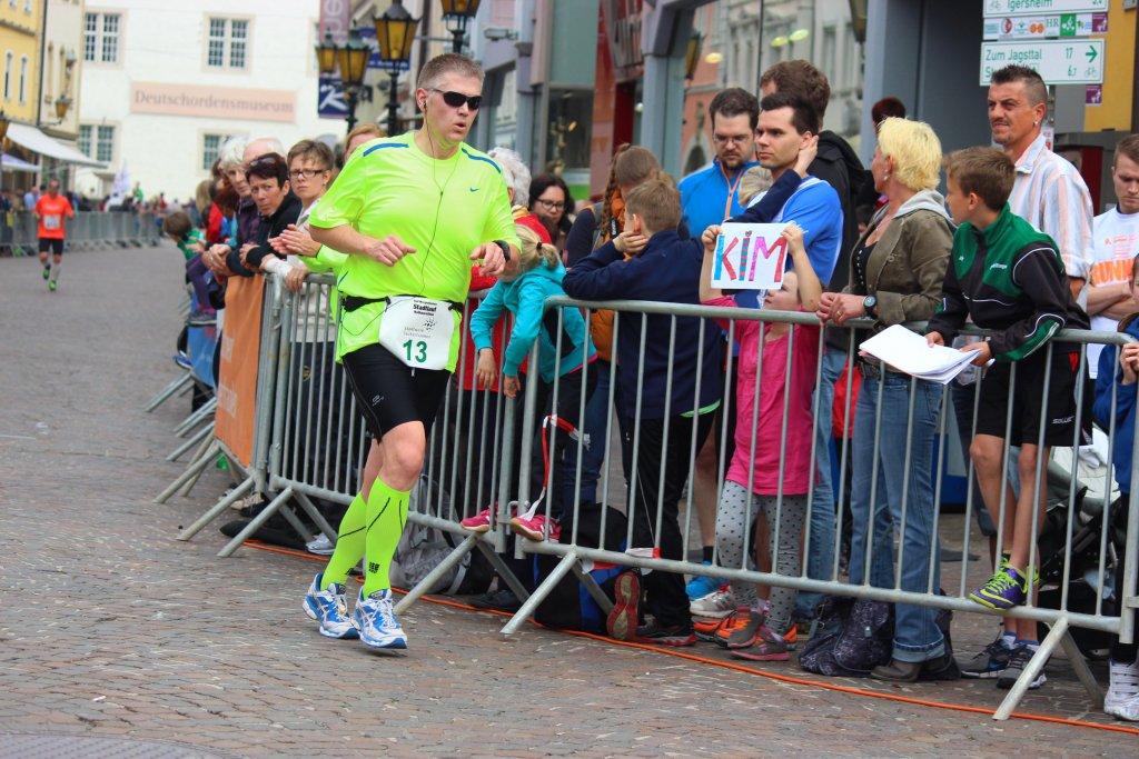 9. Stadtlauf Bad Mergentheim - Start & Ziel