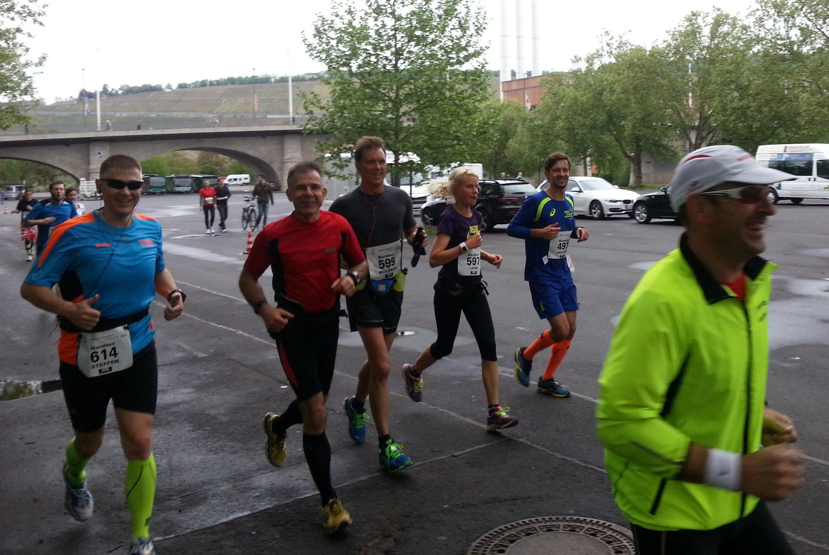 iWelt Marathon - ca. km 25 - Bild von Ronny Grosser
