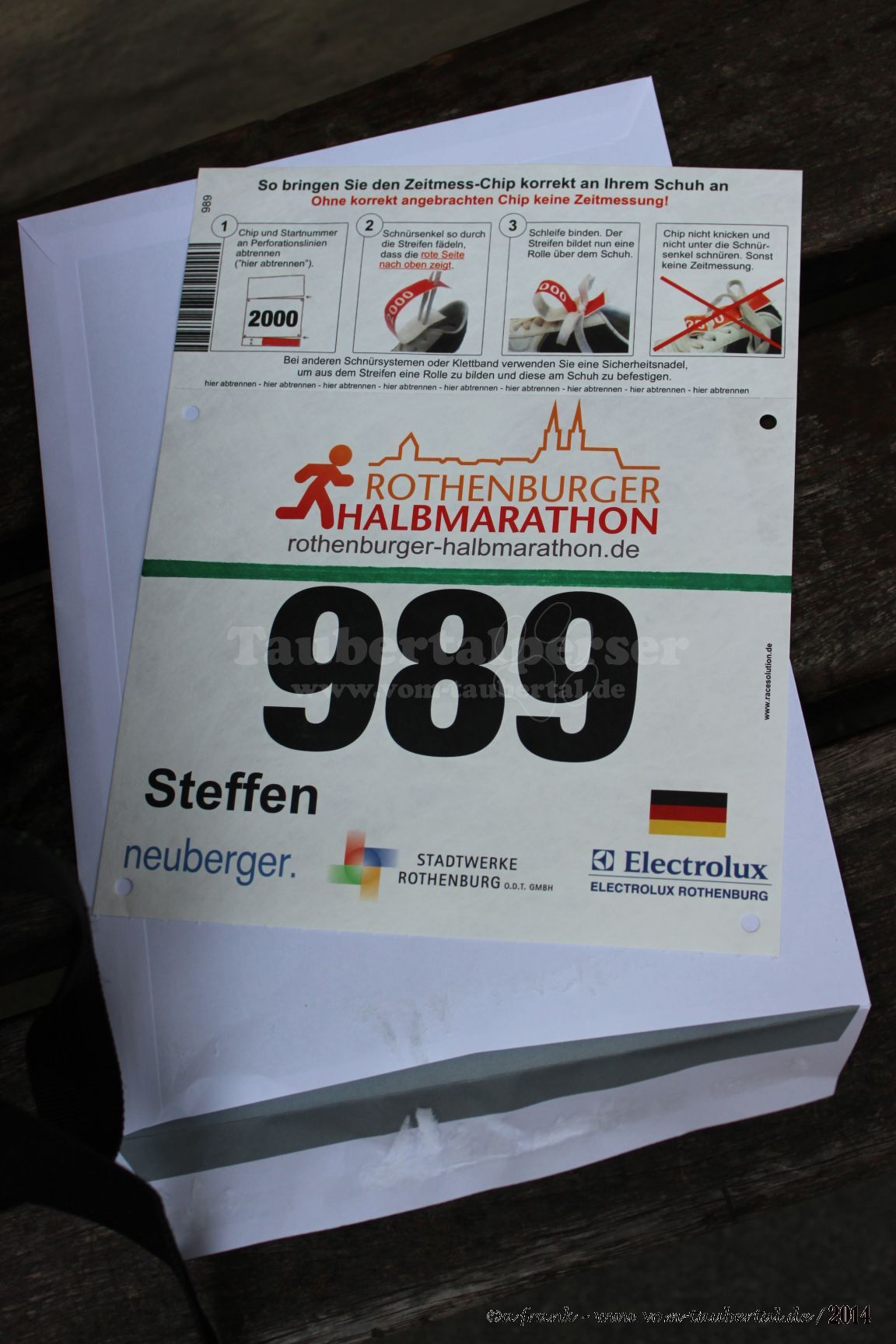 Rothenburger Halbmarathon 2014