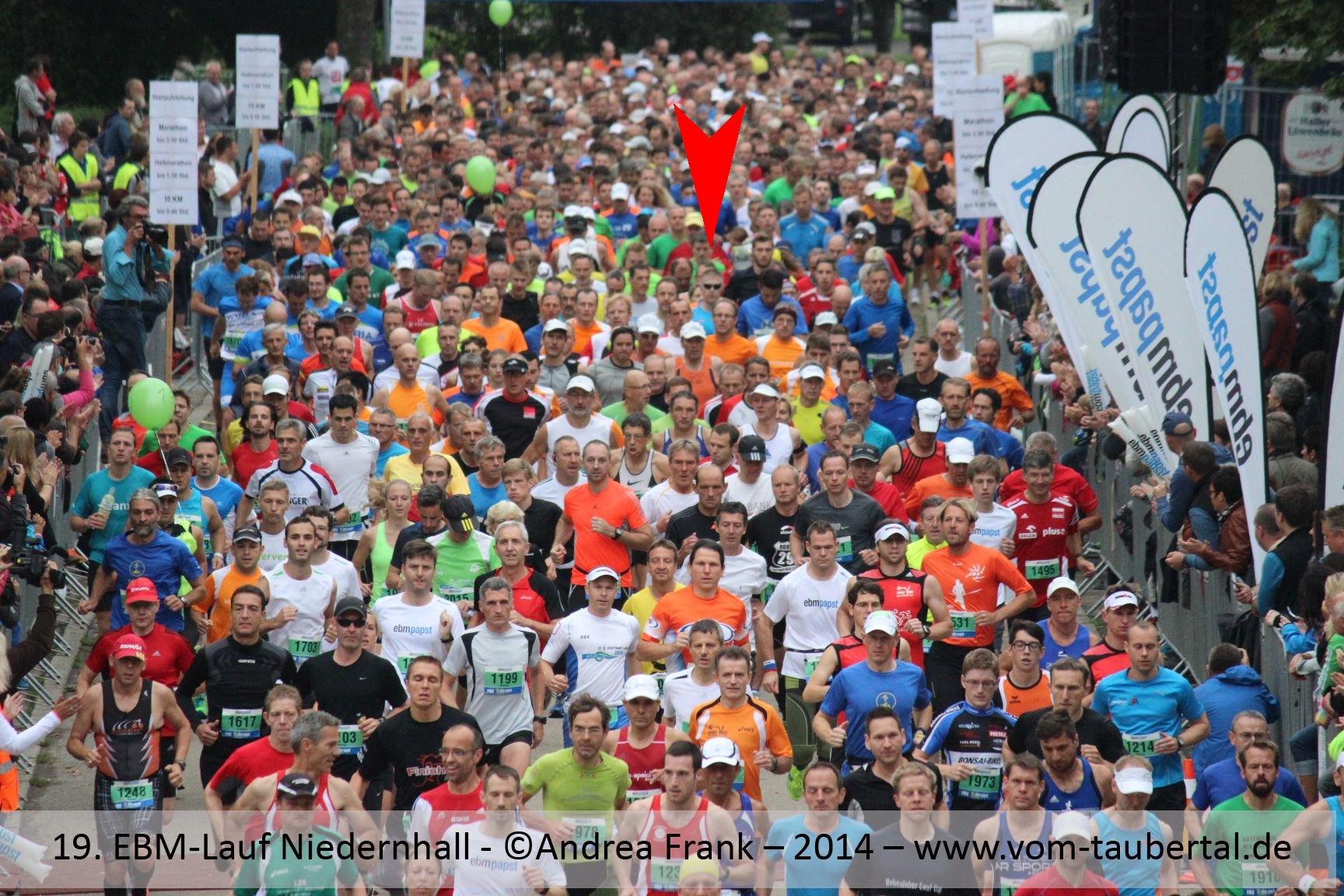 Start Halbmarathon - hätten Sie mich gefunden?