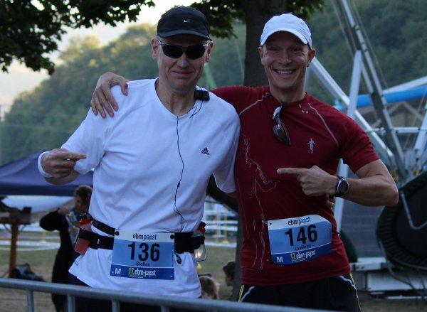 Joachim begleitete mich 2012 bei meinem ersten Marathon