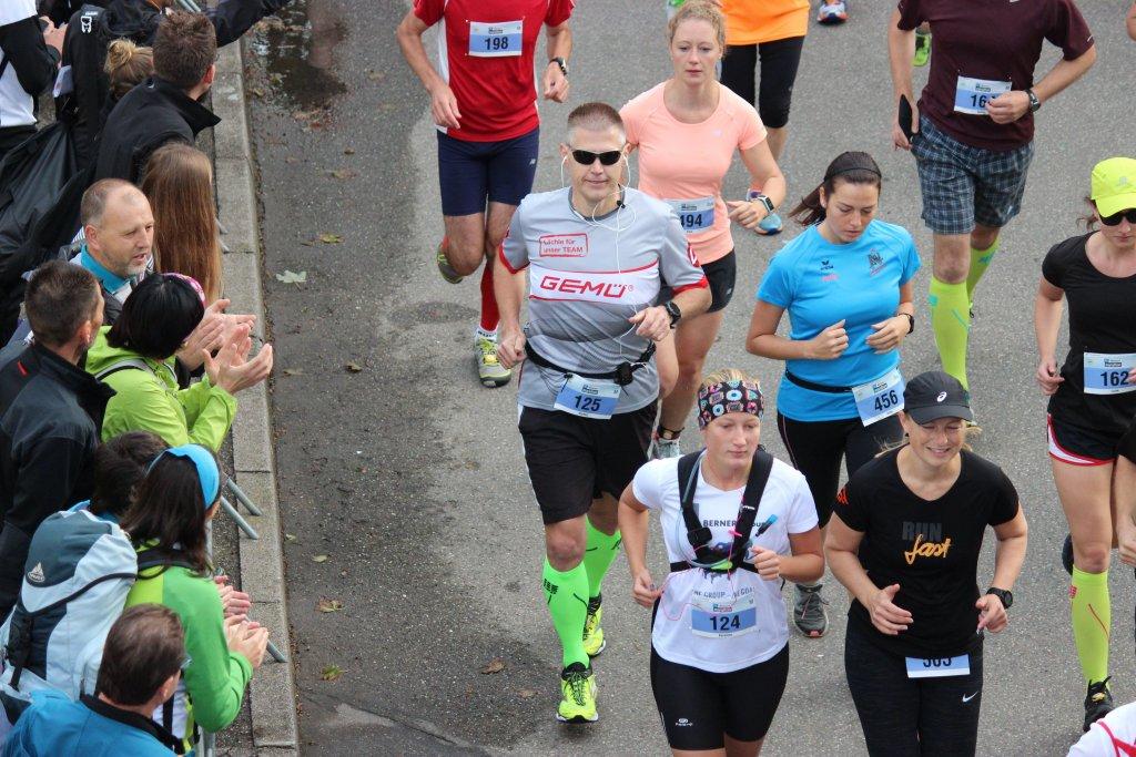 Am Start des 22. ebm-papst Marathon