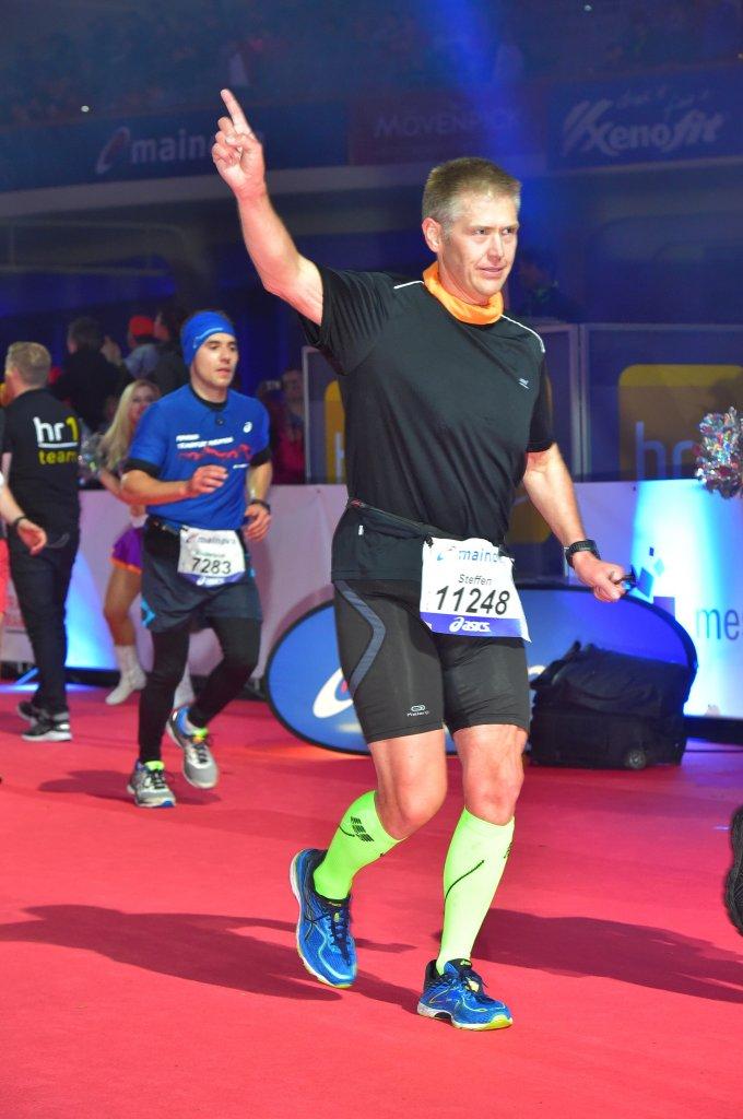 Gleich geschafft - Zieleinlauf Frankfurt Marathon