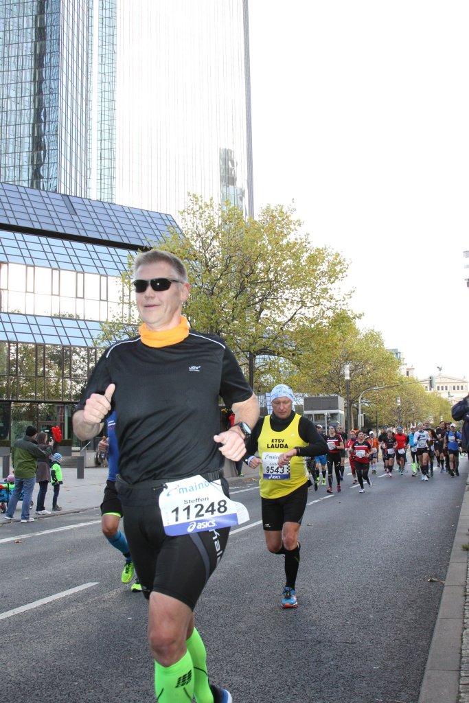ESTV Lauda war beim Mainova Frankfurt Marathon stark vertreten