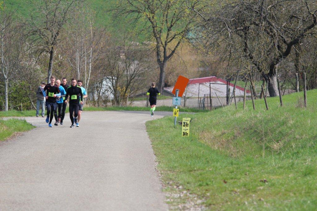 Was ich schon hinter mir hatte, hatten die 17,5km Läufer noch vor sich