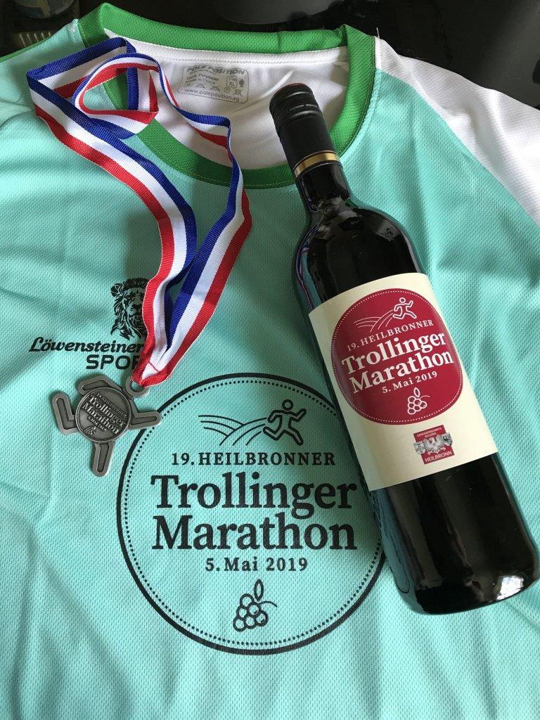 19. Trollinger Marathon in Heilbronn