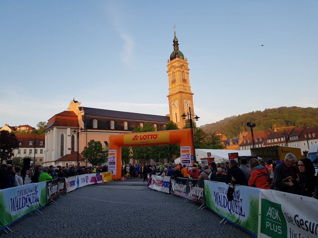 Start Rennsteiglauf Supermarathon in Eisenach