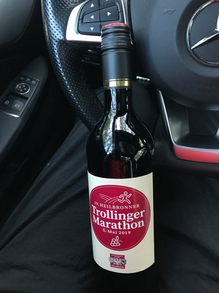 Rotwein Trollinger Marathon