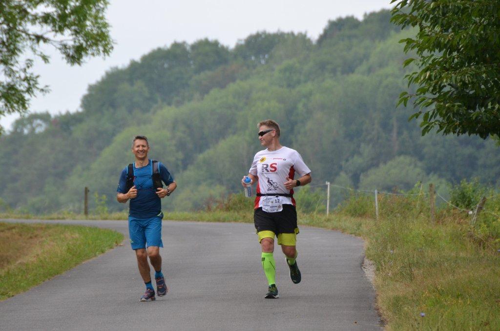 Harte Mann Extremlauf - in Richtung Niederstetten