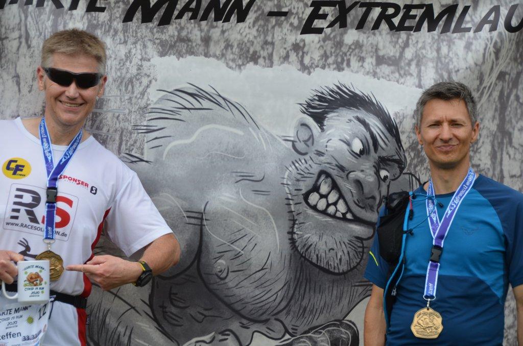 Harte Mann Extremlauf 33,3km geschafft