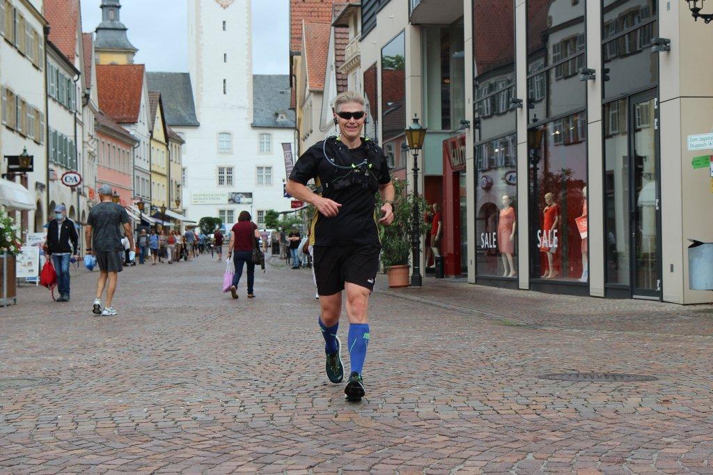 Noch 20m zum Ziel in Bad Mergentheim