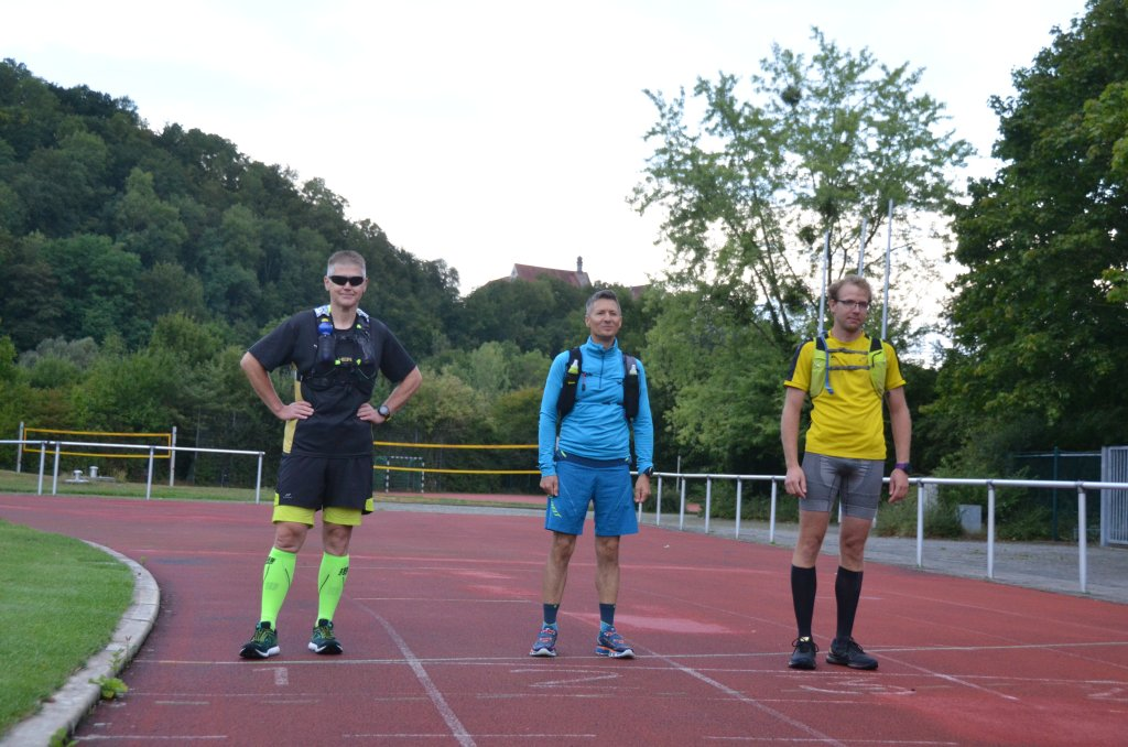 Harte Mann Extremlauf 55,5km Ultradistanz Startlinie